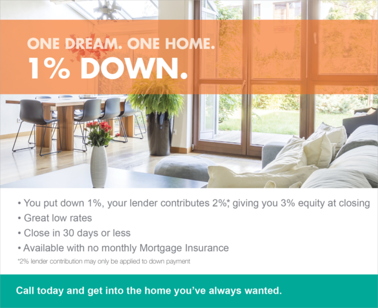 1-percent-payment-conventional-mortgage